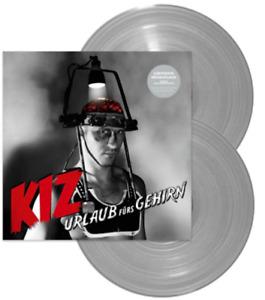 K.I.Z. - Urlaub fürs Gehirn Limited Edition Grey 2 Vinyl LP Gatefold NEU
