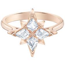 Symbolic Star Motif Ring Size 7-55 Rose Gold Tone 2019 Swarovski Jewelry 5494346