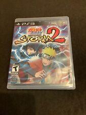 Naruto Shippuden Ultimate Ninja Storm 2 Sony PlayStation 3 2010  PS3 Complete