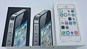 N. 3 SCATOLE VUOTE IPHONE 4, IPHONE 4S, IPHONE 5S SENZA ACCESSORI