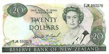 06 New Zealand / Neuseeland P173b 20 Dollars 1985