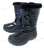Womens Snow Boots Fur Lined Waterproof Fashion Warm Zipper Winter Shoes, Sizes