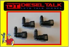 MAZDA BT-50 90 DEGREE FUEL MANAGER FITTINGS. 4 X 9.89 X 10MM.