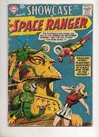 Showcase #16 2ND SPACE RANGER VG 4.0 1958 RARE DC SCI-FI! 10c Cover! TOUGH BOOK!