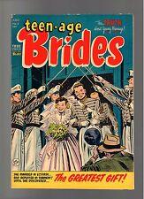 Teen-Age Brides # 6 ( 1954 ) Harvey Pub. Sharp Copy!