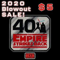 "STAR WARS ""The EMPIRE STRIKES BACK"" 40th Anniversary BIG 5 inch iron-on patch"