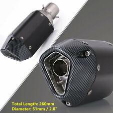 Motorcycle ATV Bike Exhaust Muffler Link Pipe Silencer 38-51mm for yamaha Honda