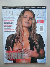 PLAYBOY (NL)    2 - 2000 BIG BROTHER SABINE + COVER + 10 Seiten