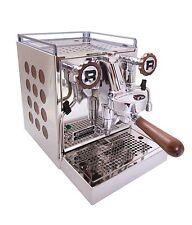 """Rocket appartamento """"LEGNO"""" 2-sistema Cerchio Macchina da caffè espresso espresso perfetto"""
