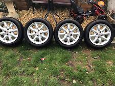 "MG F/TF 15"" Minilight 8 Spoke Alloy Wheel Set Of Four ."