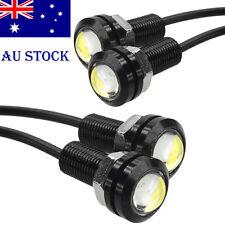 2x-18 LED Soft Strip DRL Daytime Running Light Car Eagle Eye Fog Lamp 12