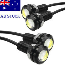 lOT4 9W 18mm Daytime Running Eagle Eye Light Round LED DRL Car Backup Lamp AU