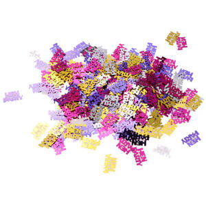 Hen Night Party Do Decorations Metallic Hen Party Table Confetti Sprinkles