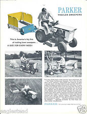 Equipment Brochure - Parker - Lawn Trailer Sweepers (E3057)