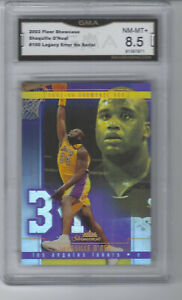 2003 Shaquille Oneal Fleer Showcase Legacy Collections #100 Gma 8.5 NM-NM+ ERROR