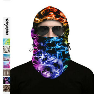 Unisex Full Face Cover Winter Warm Hat 1 Hole Balaclava Hood Cycling Sport Cover