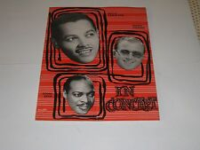 1952 COUNT BASIE BILLY ECKSTINE GEORGE SHARING JAZZ PROGRAM
