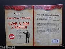 renzo arbore come si ride a napoli canzoni napoletane libro + dvd sealed dvds
