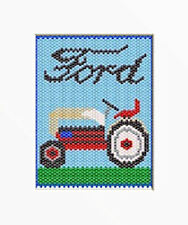 FORD TRACTOR BEADED BANNER PDF PATTERN ONLY