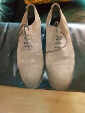 Massimo Dutti Leather Suede Men's  Shoes Size 43 UK 9.5