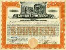 1928 Southern Railway Stock Certificate