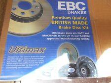 FORD MUSTANG  5.0 1987 - 1993     PAIR OF REAR BRAKE DISCS  EBC D7022