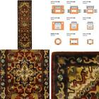 Classic Assorted/Red 2 Ft. X 12 Ft. Runner Rug