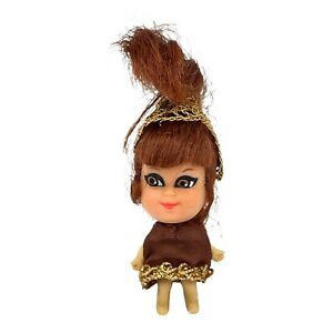 Vintage Liddle Kiddles Kleo Kola Cola Soda Pop Bottle Little Doll Only Mattel