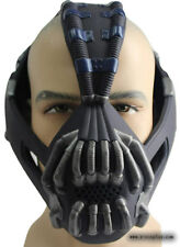 Newest Batman Bane Mask Deluxe Halloween Prop Dark Knight Rises Arkham Helmet