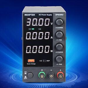 DPS305U Bench Power Supply 0-30V LCD Display Fully Adjustable 4 Digits Hotsale!