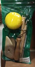 8 piece Pottery Tool Kit must have for ceramics clay wax