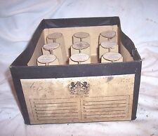 LYNN 1899 CYLINDER PHONOGRAPH RECORD HOLDER CASE, HOLDS 12 , NO LID