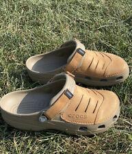 Men's Crocs Yukon Mesa Leather Shoes