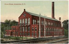 Power House in Amsterdam NY Postcard