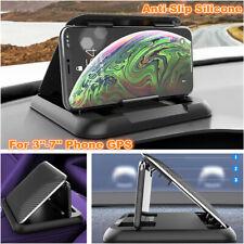 Black Lazy Bracket Mobile Phone Stand Holder Car Dashboard For iPhone Samsung