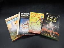 Frank Belknap Long Edison Marshall BOOK LOT vintage 1960s scifi fantasy novels !