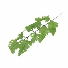 4x Artificial Leaf Spray Stems Foliage Leaves Buttonholes Flowers 9 Leaf Fern Light