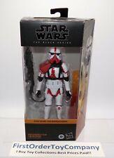 "Star Wars Black Series 6"" Inch Incinerator Trooper Figure MISB NEW SEALED"