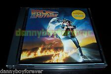Back To The Future Nm Japan '85 Soundtrack Cd No Barcode Huey Lewis Power of Lu 00006000 v