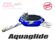 Aquaglide Rebound 16 Aquapark Rausschmeißer W / I-Log & Slide Pool Spielzeug