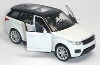 NEU: Modellauto Range Rover Sport ca. 11,5cm weiß Neuware von WELLY