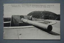 R&L Postcard: Long Range Naval Gun William II Battery Knocke on Sea