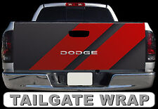 T207 DODGE Tailgate Wrap Decal Sticker Vinyl Graphic Bed Cover