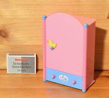 Mini Baby Born Kleiderschrank Schrank TOP