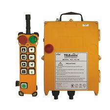 Industrial radio remote control F24-8D for hoist and crane (1T+1R) AC/DC65V-440V