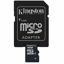 Kingston 16GB MicroSDHC Mobile Phone Memory Card