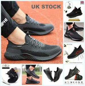 Men Steel Toe Cap Saftey Protective Shoes Lightweight Working Trainers Boots M1
