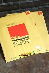 Kodak 8X10 G-2 Photographic Paper Expired 70s