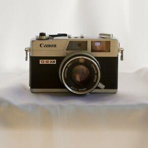 Canon Canonet QL17 GIII G3 35mm f/1.7 Film Camera for Parts or Repair