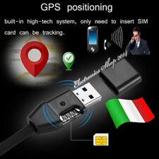 Localizzatore satellitare tracker GPS Cimice Spia GSM ambientale in USB nascosto